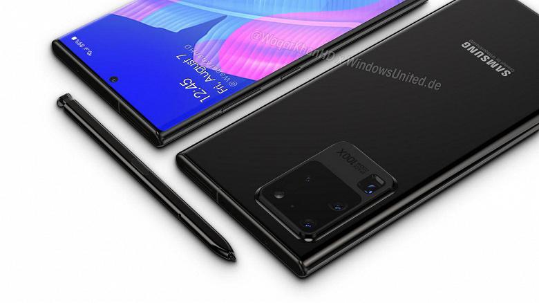 Самые ожидаемые новинки конца 2020 Samsung Galaxy Note 20