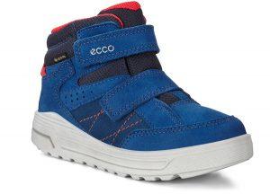 Ботинки синие