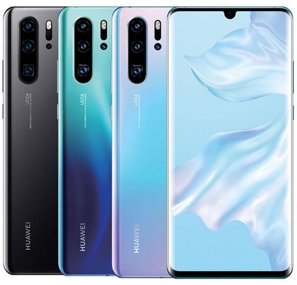 Смартфоны цена/качество с лучшей камерой до 30000 рублей Huawei P30