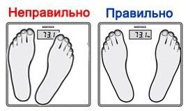 Как взвешиваться на умных весах