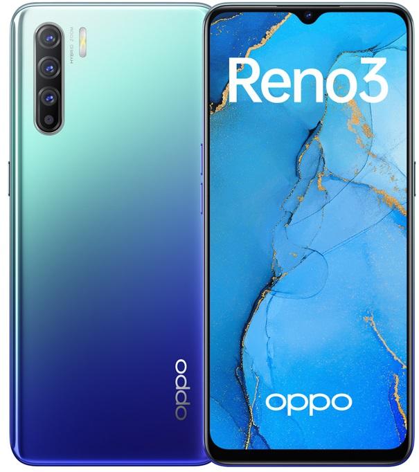 Смартфоны цена/качество с лучшей камерой до 30000 рублей OPPO Reno 3