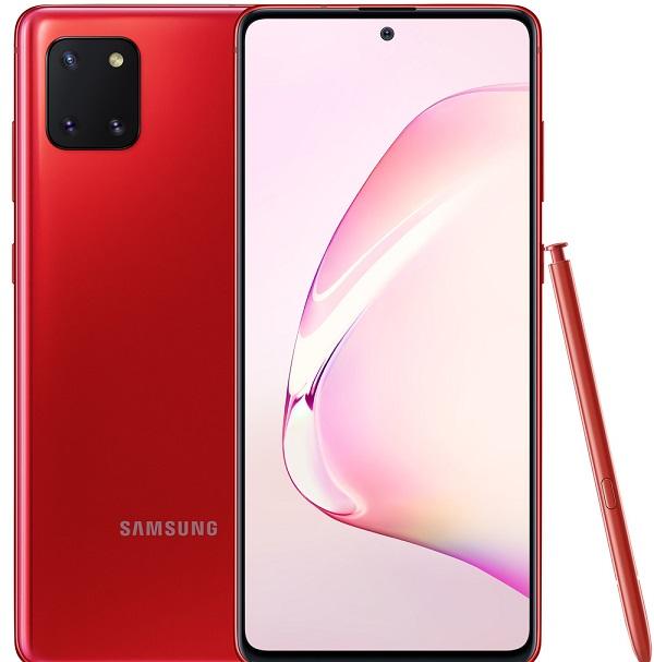 Смартфоны цена/качество с лучшей камерой до 30000 рублей Samsung Galaxy Note 10 Lite