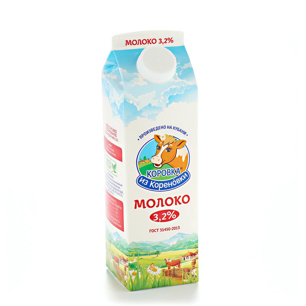 Коровка из Кореновки молоко