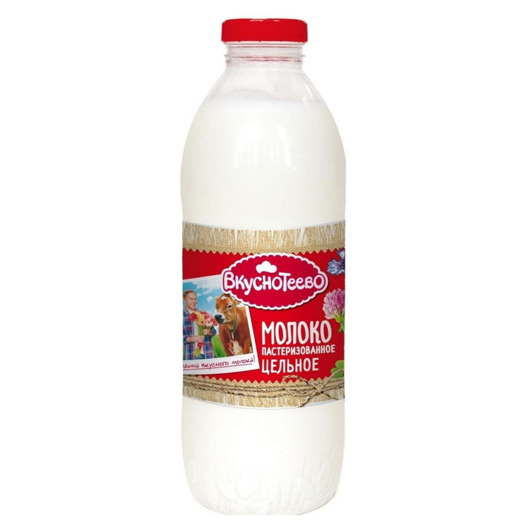 Молоко Вкуснотеево