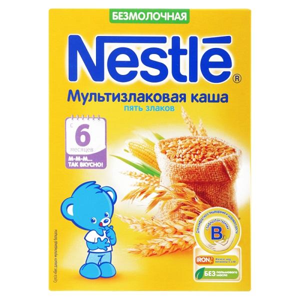 «Пять злаков» от Nestle