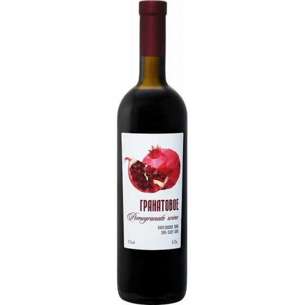 Artsakh Pomegranate Semi-Sweet