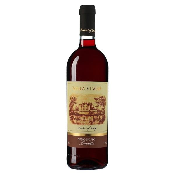 Castello di Lozzolo Villa Visco Vino Rosso Amabile