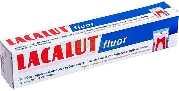 Lacalut, Fluor