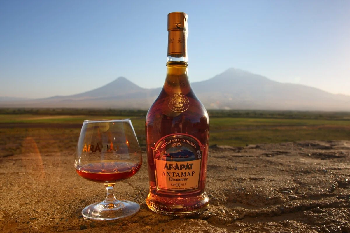 Лучший армянский коньяк