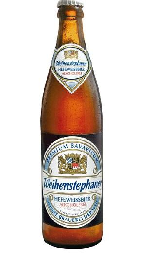 """Weihenstephan"" Hefeweissbier Alkoholfrei"