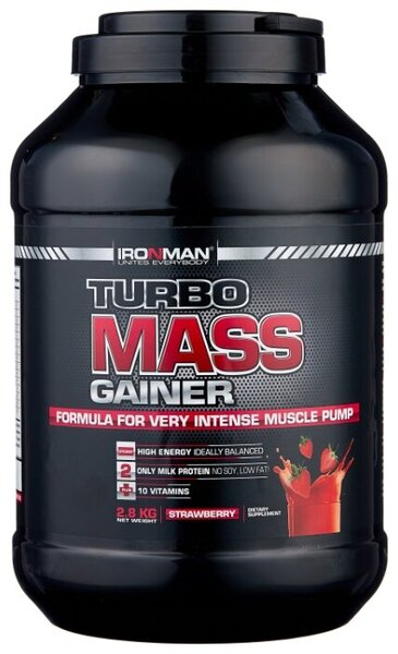 IRONMAN Turbo Mass Gainer