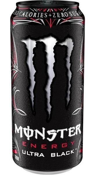 «Monster» Energy Black Ultra