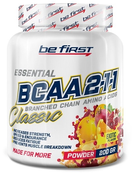 """""""Be First"""" BCAA 2:1:1 Classic Powder"""