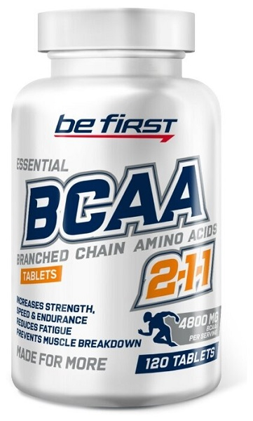 """""""Be First"""" BCAA Tablets"""