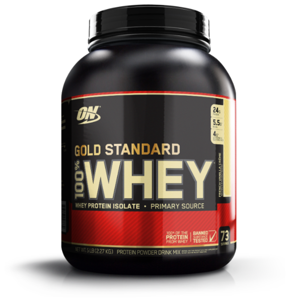 """Optimum Nutrition"" 100% Whey Gold Standard"