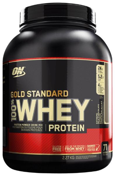 "Optimum Nutrition"" 100 Whey Gold Standard"