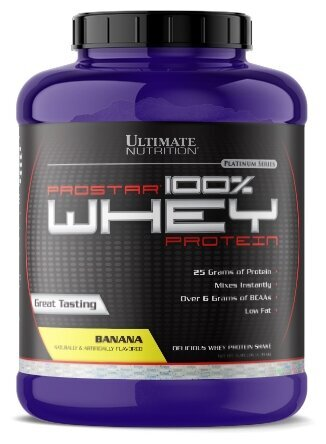 """""""Ultimate Nutrition"""" Prostar 100% Whey Protein"""