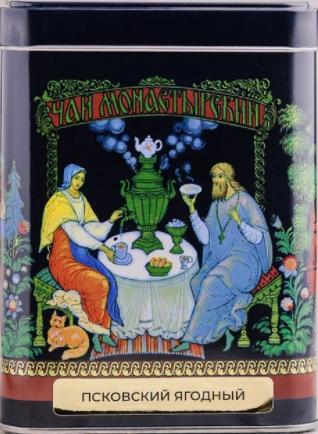 Псковский ягодный травяной чай