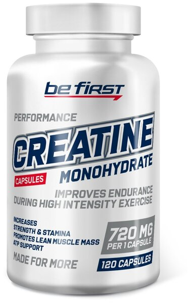 """""""Be First"""" Creatine Monohydrate Capsules"""