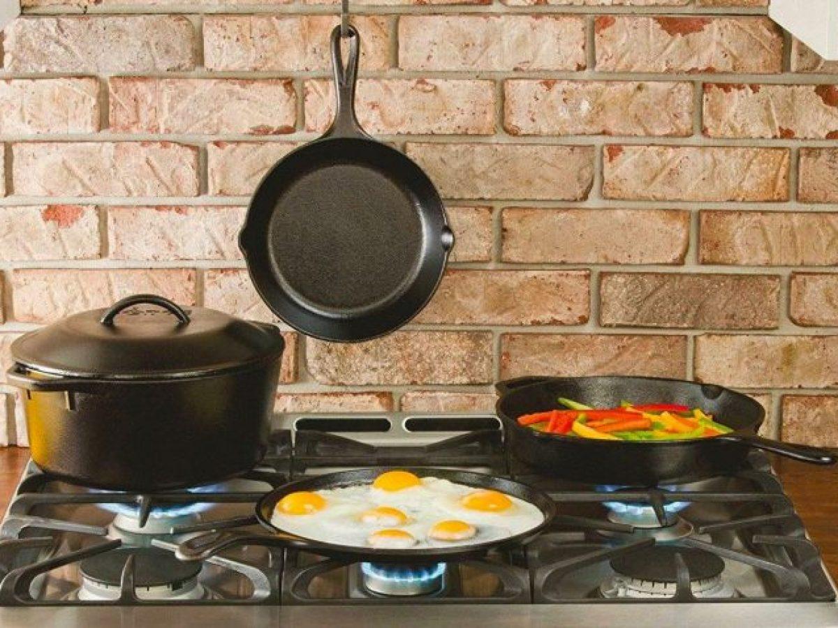 Какая сковородка лучше для газовой плиты