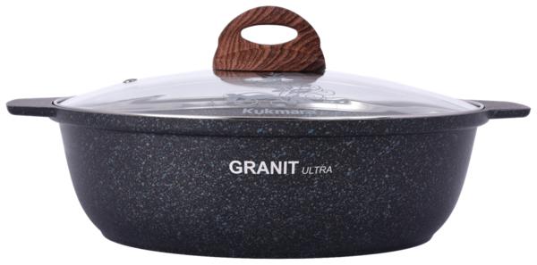 Кастрюля-жаровня Kukmara Granit Ultra жгг31а